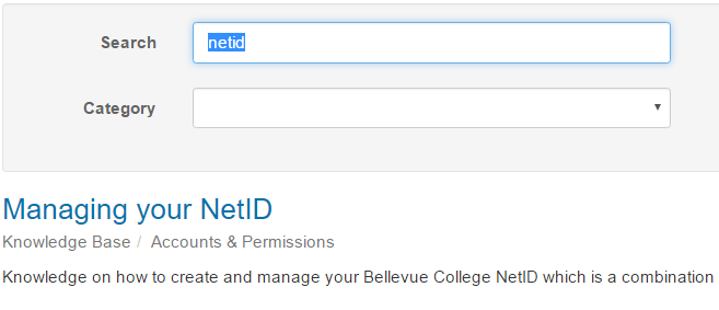Image of netid search results